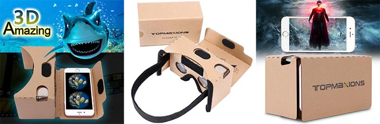Google Cardboard VR offers the cheapest possible VR gift option, yet it actually works really well as a fun toy and as a great introduction to VR